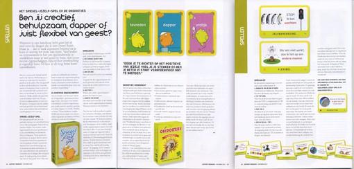 Support Magazine over Spiegel-jezelf-spel en Okidootjes