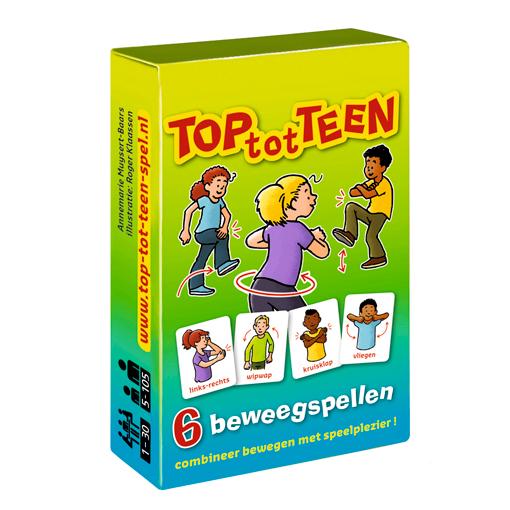 kaartspel TOP-tot-TEEN